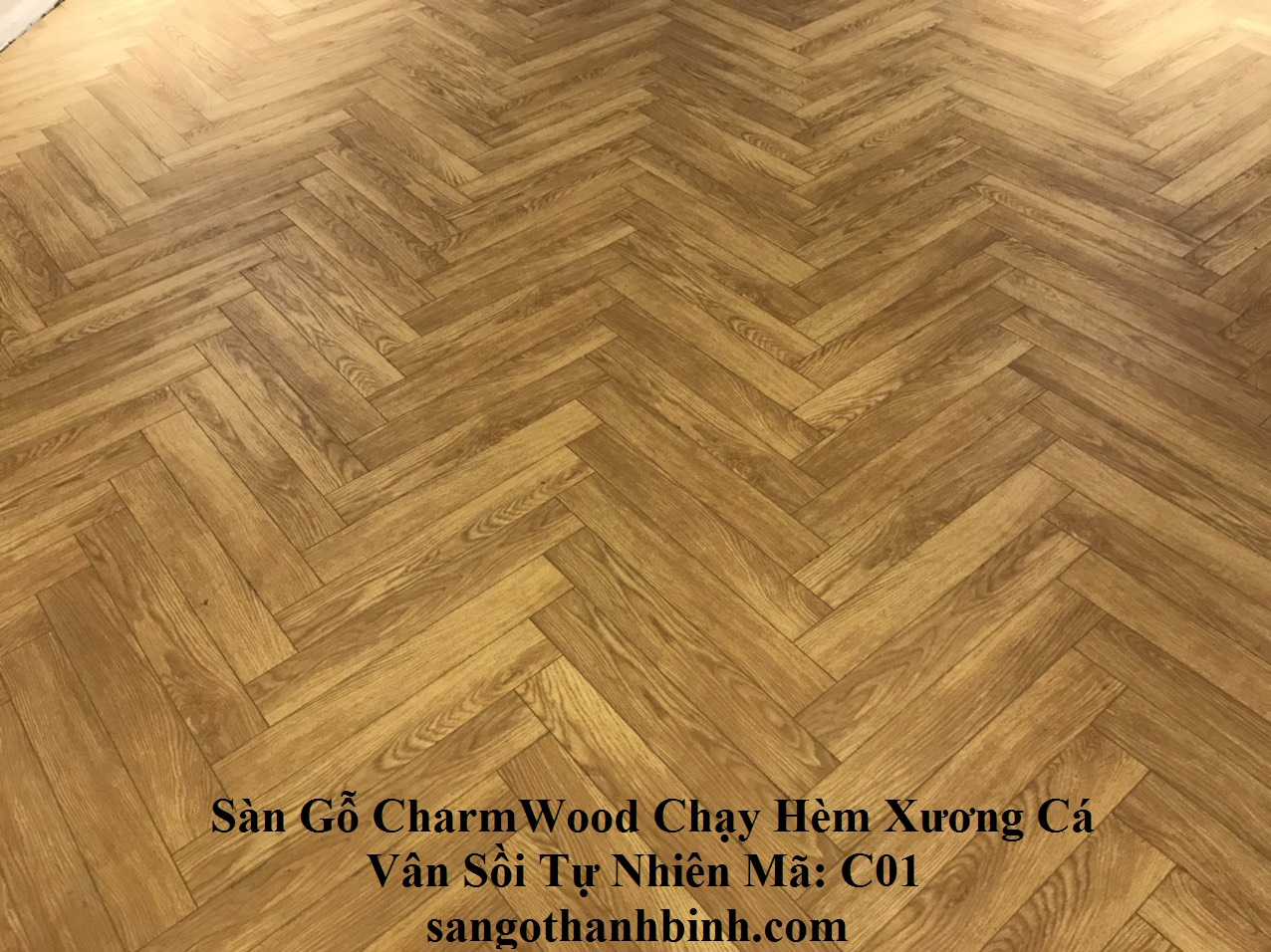 Charm Wood Aqua 12mm - C01 : Vân Sồi